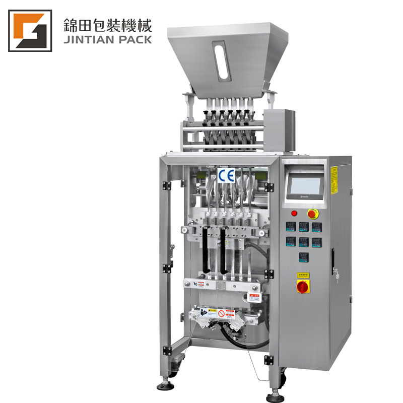 JT-320-6K 6 lanes vertical packing machine for granule