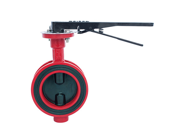 Wafer Butterfly Valve with Handlever