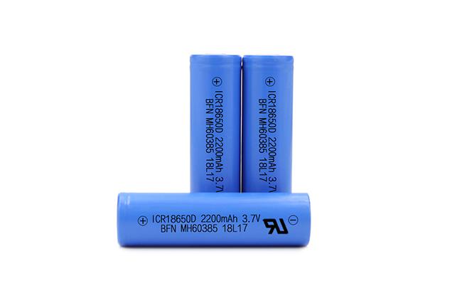 BFN 热销电池中倍率电池 18650 3.7V 2200mAh