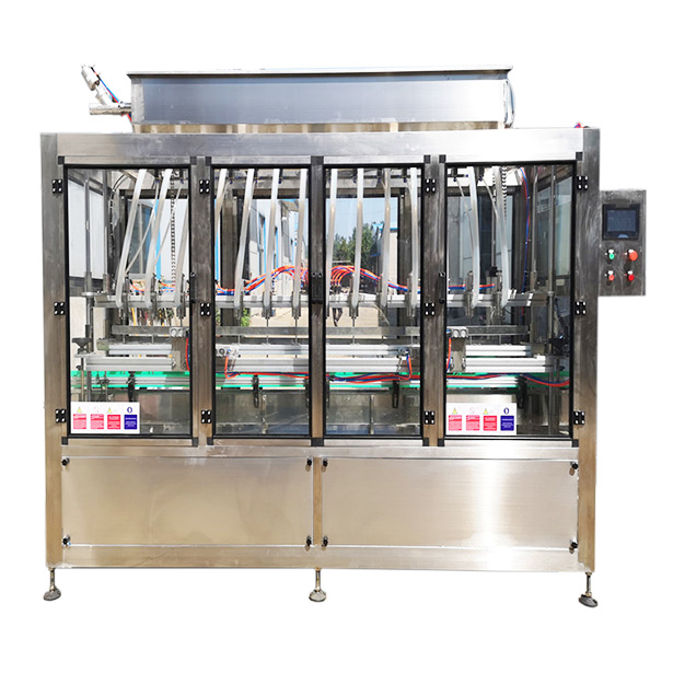 Automatic artesian filling machine