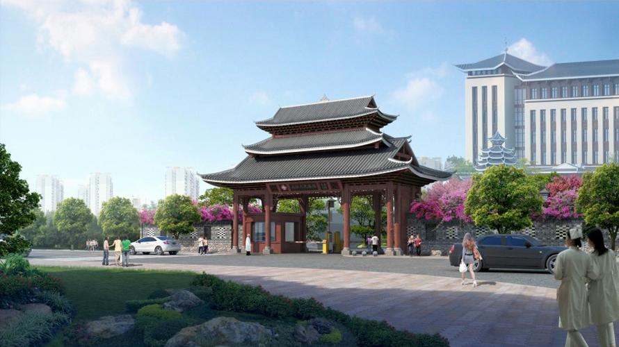 三江醫院景觀設計