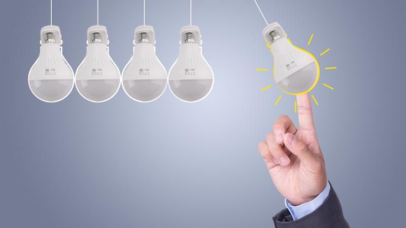 白熾燈,日光燈,節能燈和led燈的區別