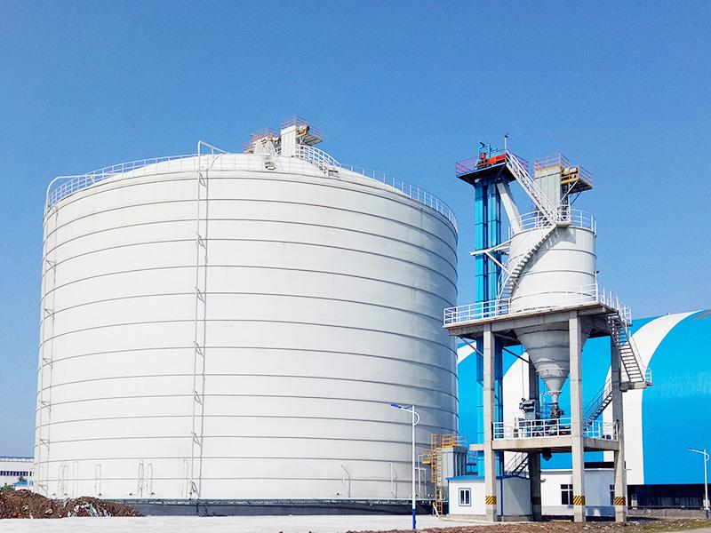 國能集團荊州鋼板庫工程