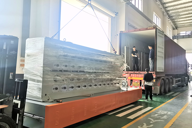 1 set 52H annealing-tinning machine shipped to Thailand