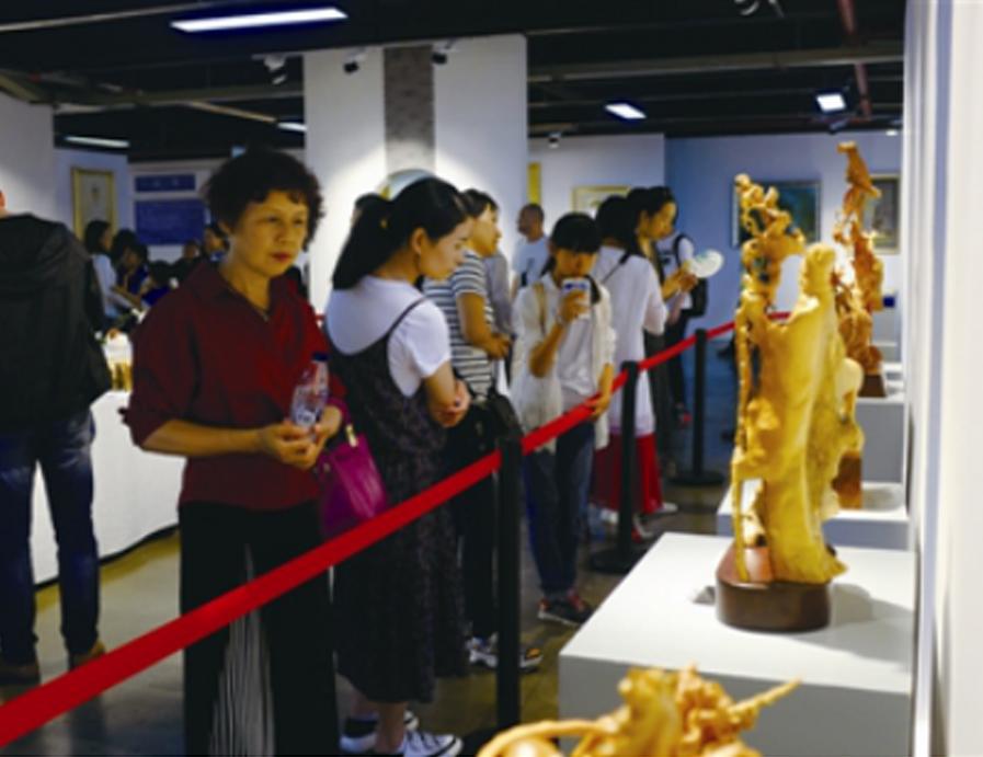 手工藝體驗展在溫州百工名家展示館舉行