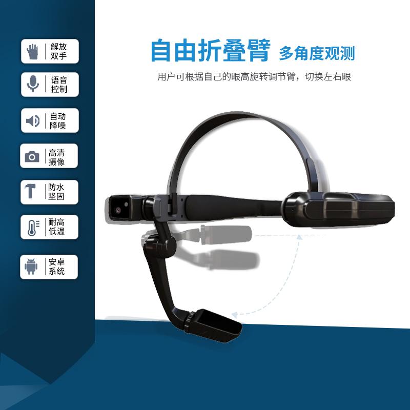 穿戴式AI眼鏡   遠程指導一線