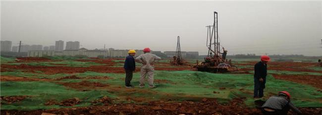 湖南省电力公司防灾减灾中心领导来到湖南防灾科技产业园建设项目视察