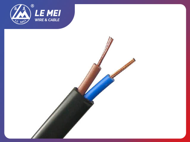 PVC Wire H03VVH2-F With DIN VDE Standard