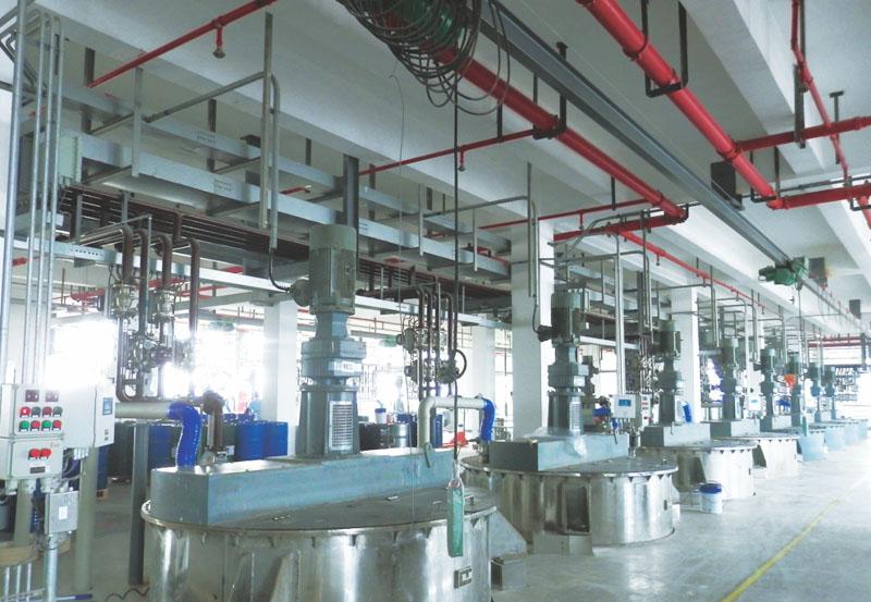 紫荆花涂料(上海)有限公司设备工程