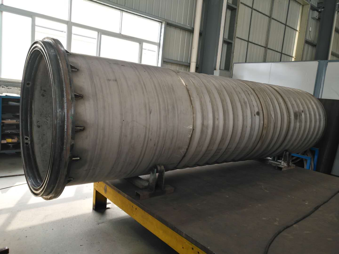 Bell for nitriding furnace