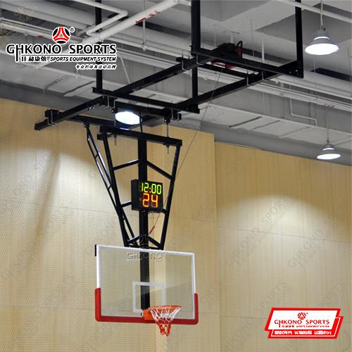 电动悬空篮球架