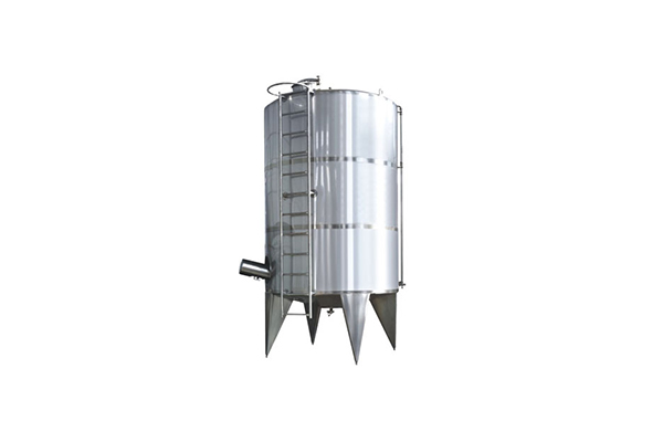 Three-layer cold and hot tank series