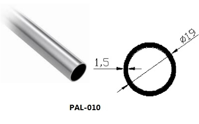 19mm Aluminum support bar stabilizer