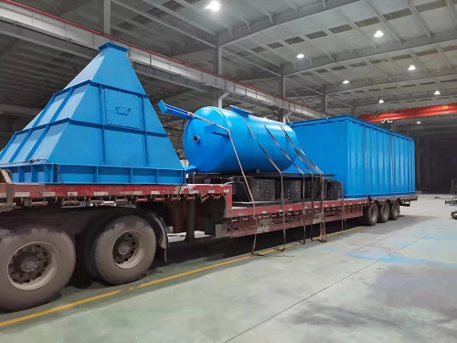 Hebei Juxing Group and Sany Heavy Industry Equipment Shipment