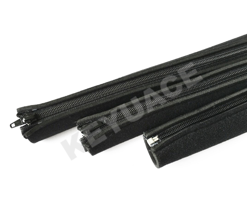 FNC flexible protective casing with zipper-like wire and cable