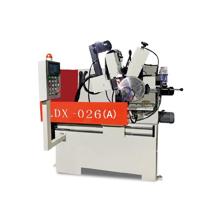 LDX-026(A)伺服擺角全數控冷鋸片前后角磨齒機