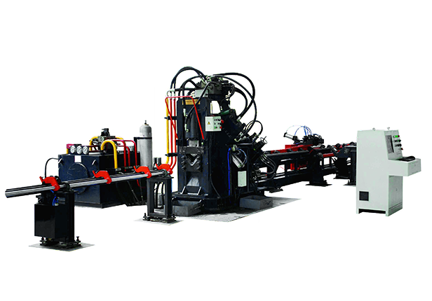 JNC系列數控角鋼打字沖孔機剪切生產線