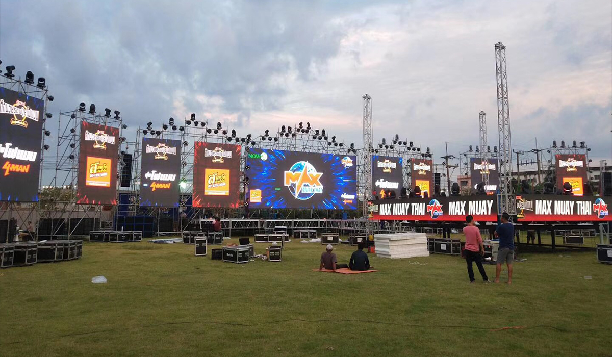 UOCOLOR outdoor rental LED display
