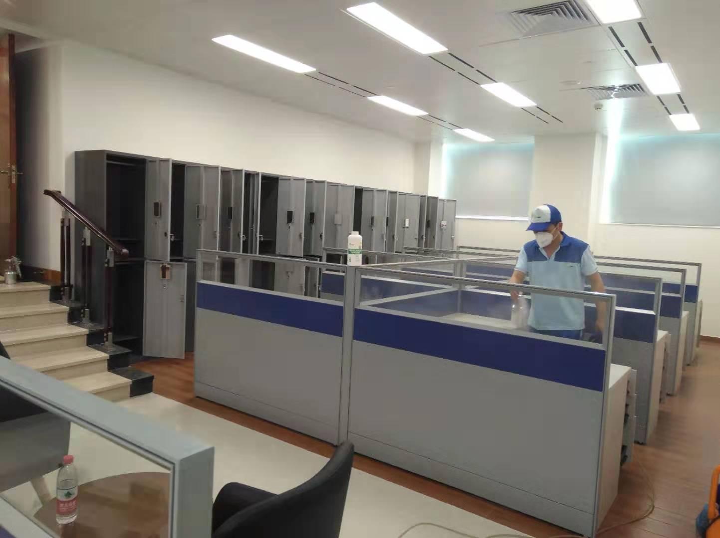 工商銀行(珠江新城)辦公點去甲醛 500平方