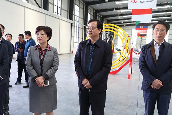 鄭州市委常委、紀委書記周富強參觀考察