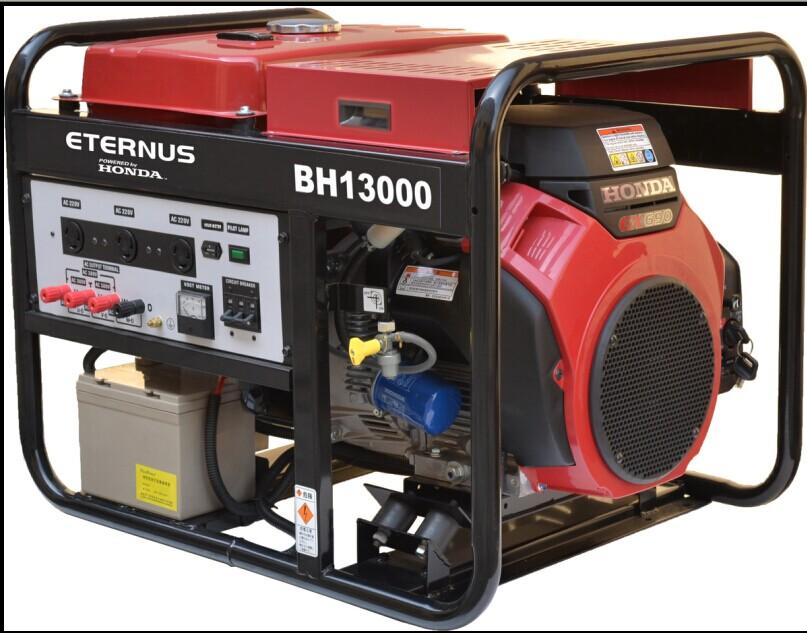 10.5kW單相汽油發電機