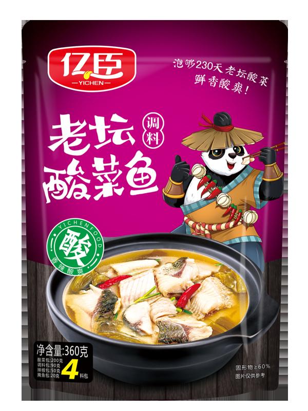 億臣老壇酸菜魚360克