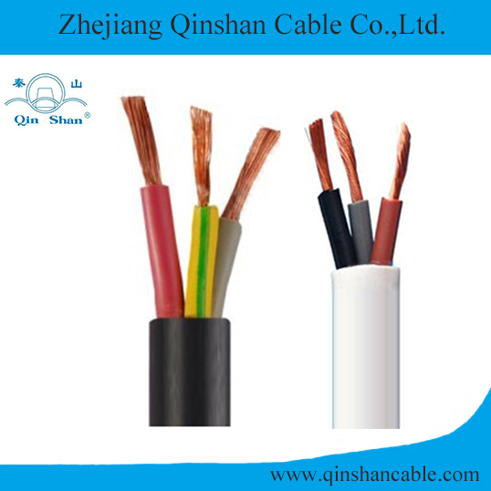3 Core Copper Conductor PVC Insulated and Sheathed Flexible Electrical Cable