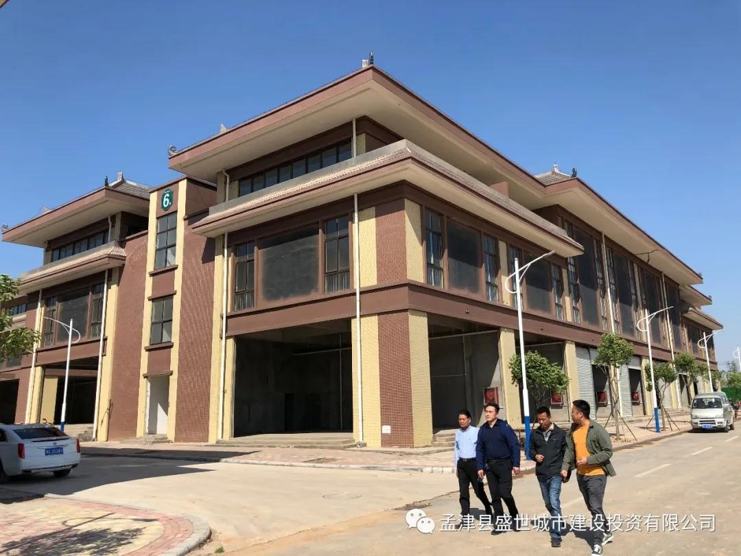 城投公司董事長楊召輝到項目實地督查進展情況