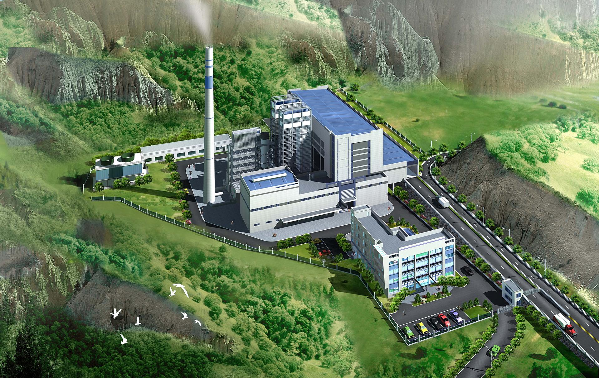 溫嶺市垃圾焚燒發電廠