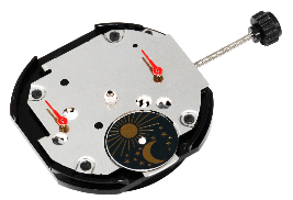 P89B Multi-eyes movement 3 Hands /Day-date / Sun, Moon and Star Movement
