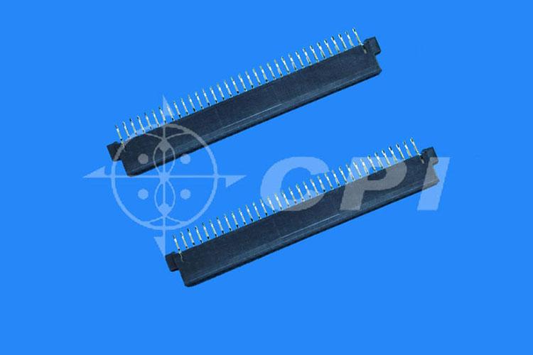 PC母座STR式中耳有擋片有接地槽成品