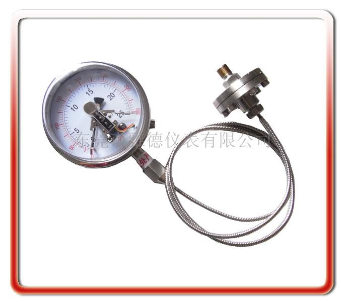 150MM隔膜式電接點壓力表