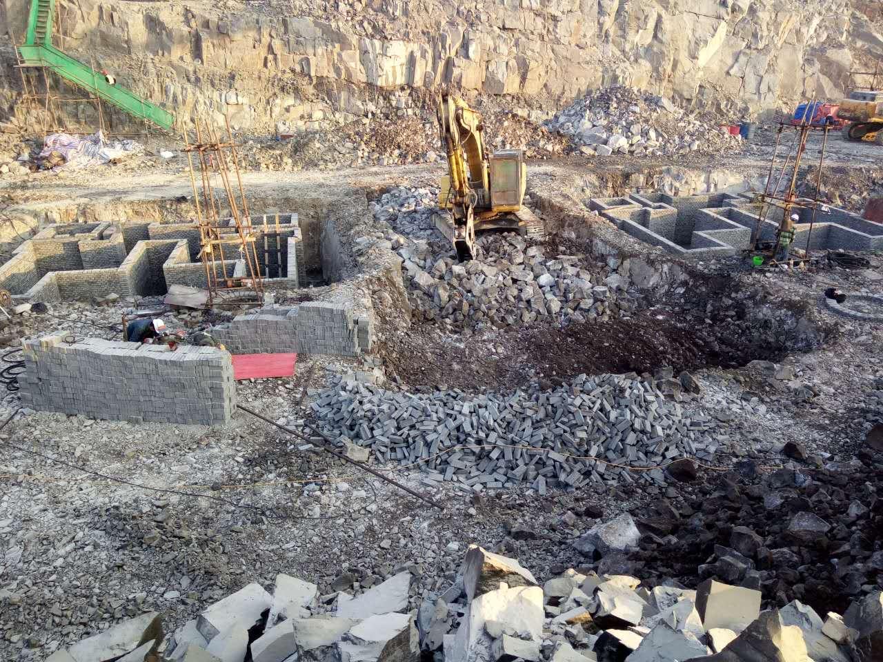 温州林里生态城项目平基土石方工程