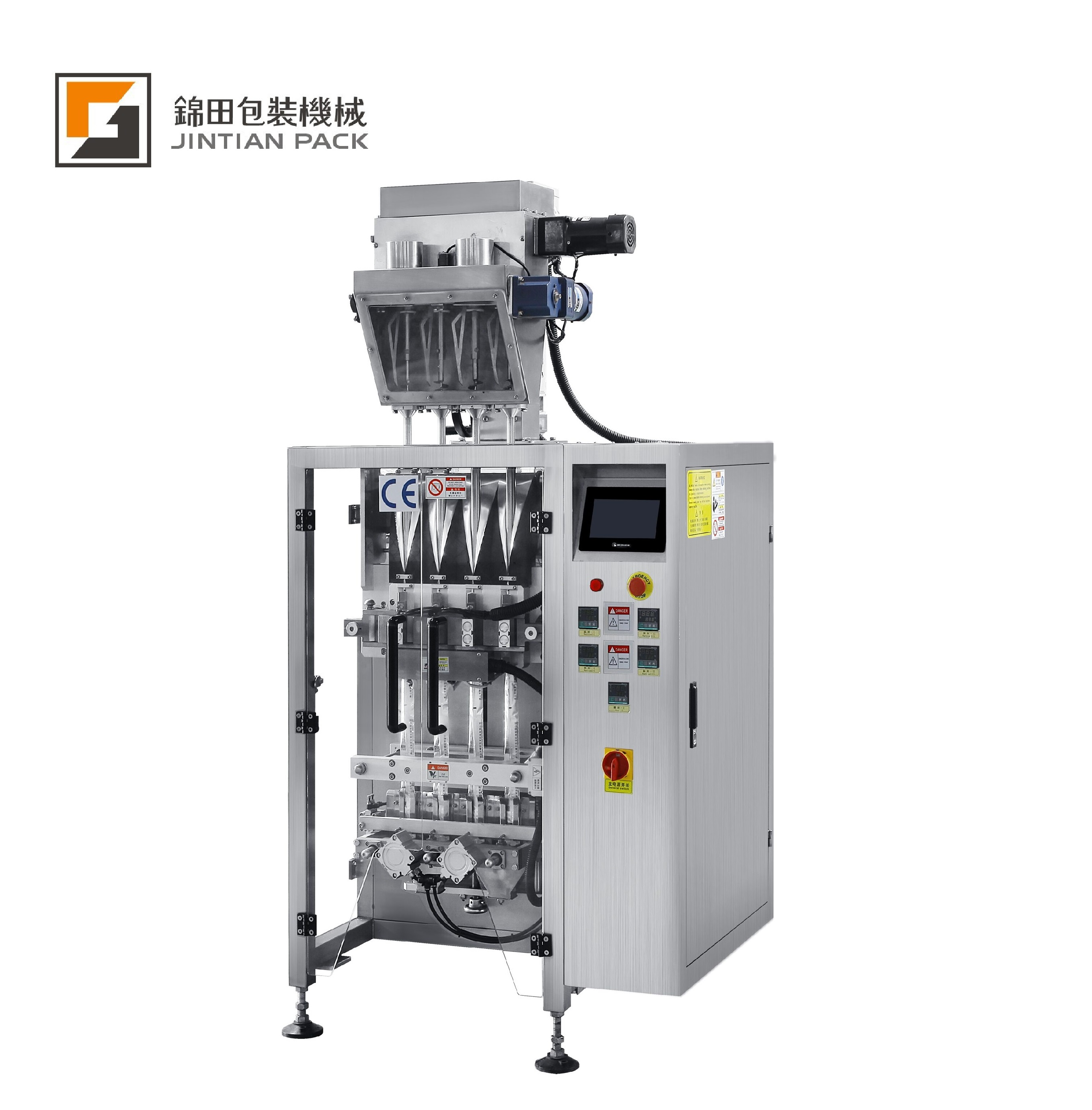 JT-320-4K four lanes powder packing machine
