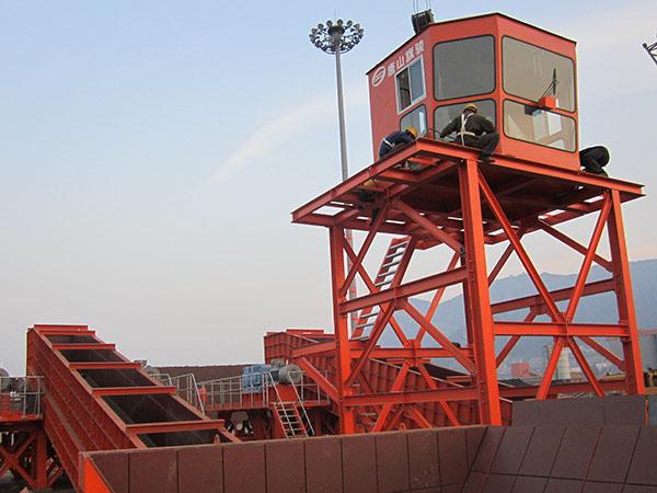 連云港港墟溝東泊位區和廟嶺散貨泊位區堆場工藝連接工程刮板給料機7