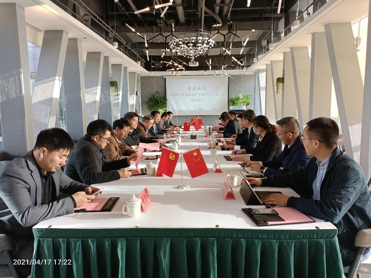 拉萨市副市长刘广民访问百灵天地