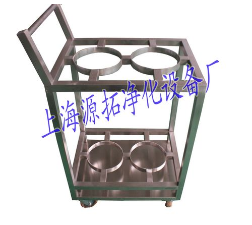 YT800000256 stainless steel gas cylinder cart