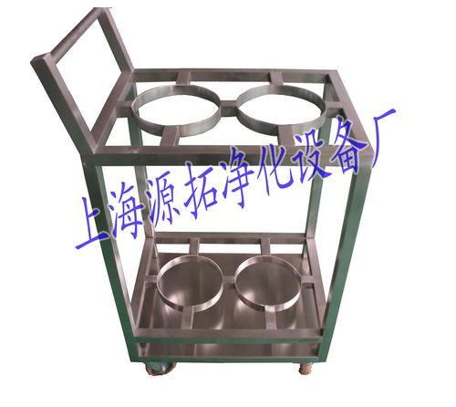YT800000256 不锈钢气瓶推车