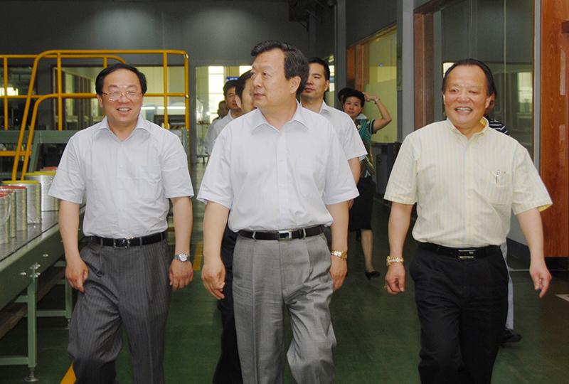 全国政协副主席兼秘书长夏宝龙,曾于2009年5月视察企业。