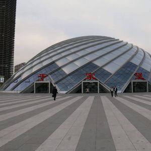 天津于家堡高鐵站