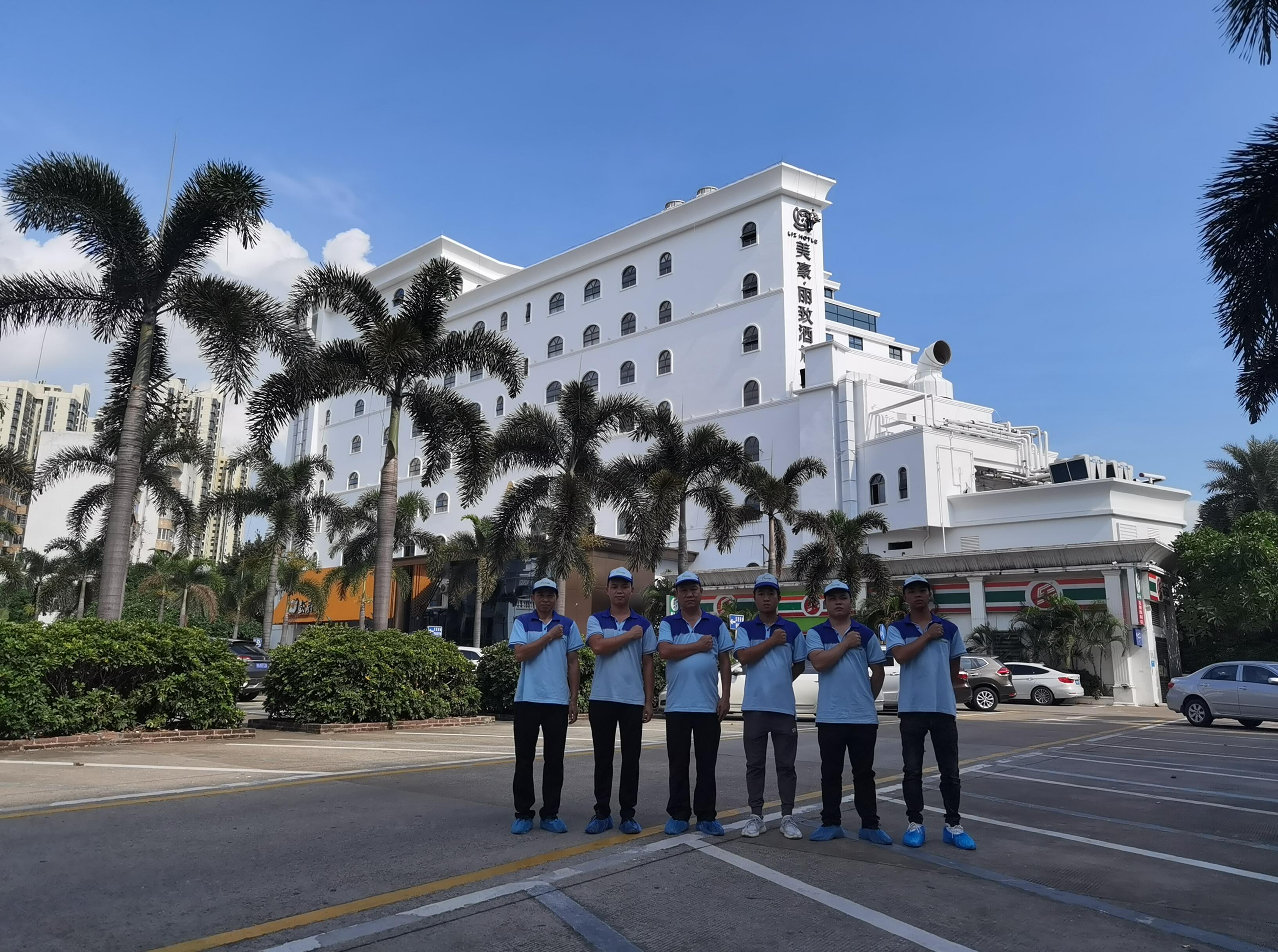 美豪麗致酒店6000方空氣淨化服務