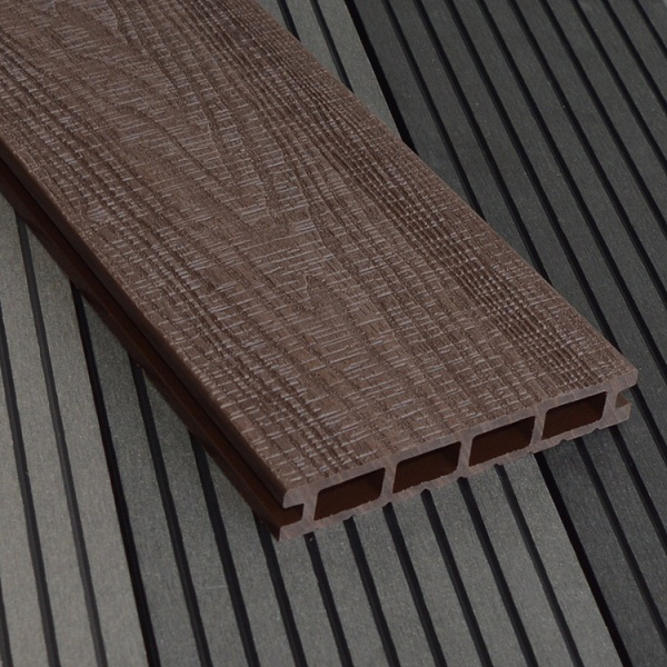 WPC Embossing Decking W150×T25mm Chocolate