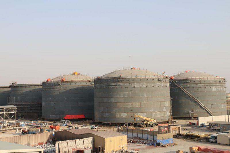 阿联酋EPC油库建设工程