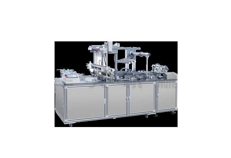 JW-280-B 透明膜折疊式包膜機(帶防偽易拉線)