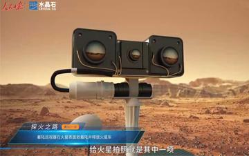 天问一号火星探测器三维动画