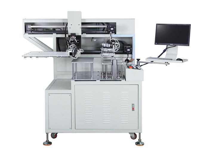 CCD自动定位冲床机