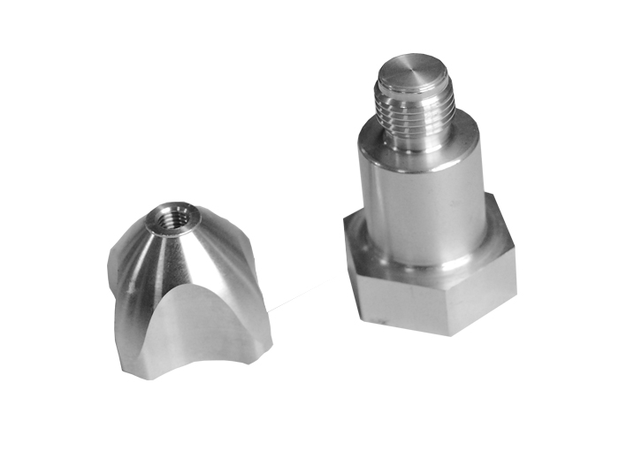 Aluminum hexgon rod parts machining