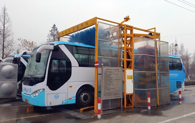 通道式巴士洗車機TH-S系列(新款)