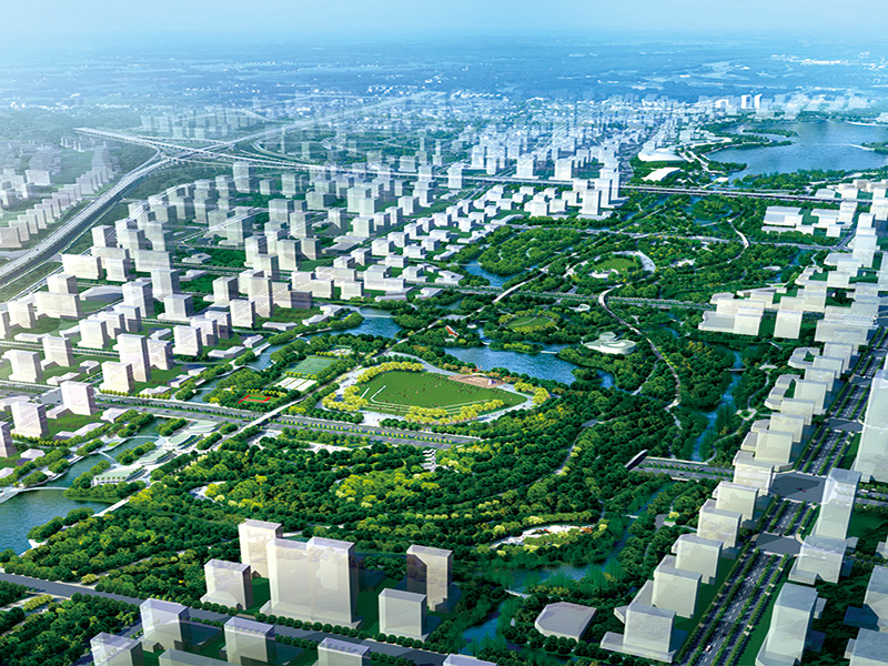 Nantong Central Innovation Zone (National) Central Forest Park Project