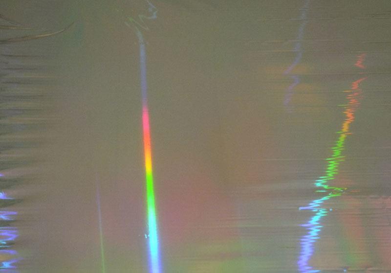 PET素面無版縫鐳射膜